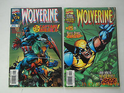 Marvel Comics Wolverine Vol 1 #124-125 Comic Book Set! New!