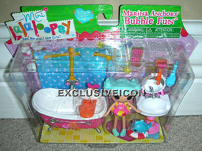 MGA Lalaloopsy Mini Marina Anchors Bubble Fun Playset RETIRED Canadian