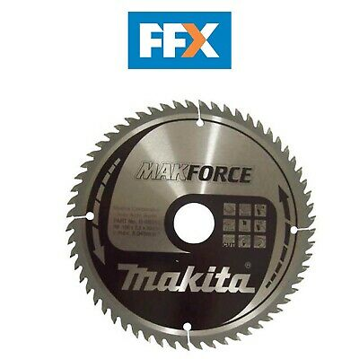 Makita B-08551 190mm x 30mm x 60T Circular Saw Blade