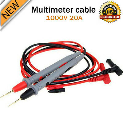 New Universal Digital Multimeter Multi Meter Test Lead Probe Wire Pen Cable Min