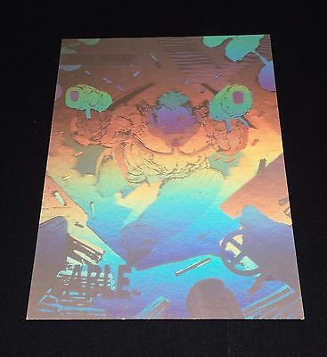 Cable  X-Men Series Hologram Xh-2  Impel 1992 Insert Marvel Nmt