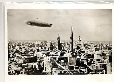 PHOTO of ZEPPELIN over CAIRO EGYPT - Reproduced from Negative