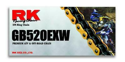 RK Chain GB 520 EXW O-Ring 110 Links Gold