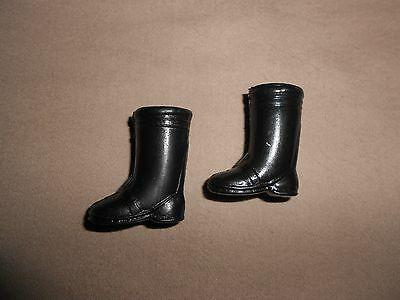 VINTAGE BLACK BOOTS for TRESSY CRICKET CLONE DOLLS
