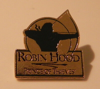 Robin Hood Prince of Thieves Promo Lapel Official Pin Kevin Costner Alan Rickman