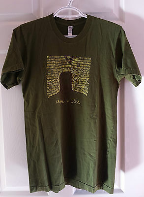 Iron & Wine 'Our Endless Numbered Days' Green T-Shirt  Lady's Small