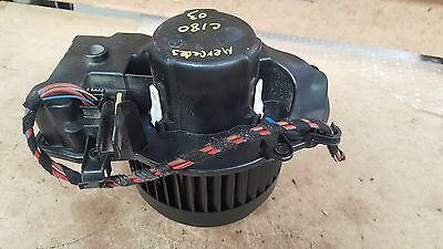 Mercedes Benz W203 C200 C180 00-07 Heater Fan Blower Motor Genuine