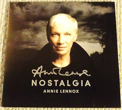 Annie Lennox Signed Nostalgia New Vinyl 2 Lp W Proof Eurythmics Rare