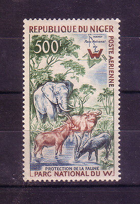 Niger: 1960 Scott Nº C14 Never Hinged, Thin, thematic fauna . NGR07