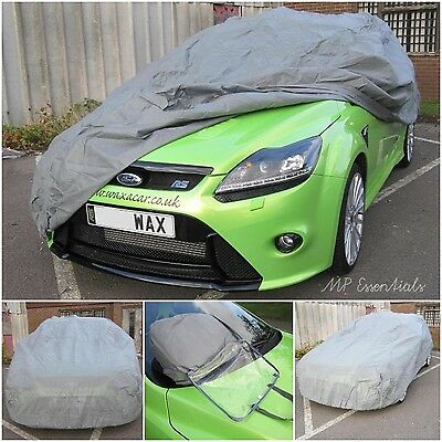 MPE Universal Breathable Water & Resistant Outdoor & Indoor Full Car Cover - XL
