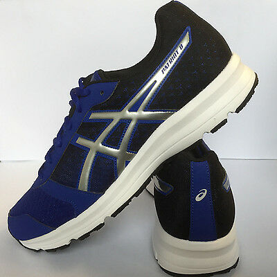 Asics Gel Patriot 8 Mens Running Shoes Fitness Gym - Blue/Silver New £33.99