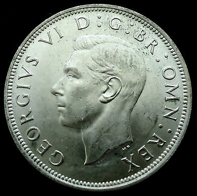 1942 to 1945 GB Half Crown Silver coin KGVI EF AUncirculated *Multi Listing*