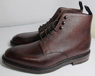 Loake Anglesey Oxblood Grain Boot 9.5 F - Slight Seconds RRP £245 (4115)