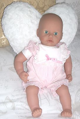 """Zapf Creations 2005 Baby Annabell Cooing/Talk 18"""" Baby Doll With Realistic Eyes"""