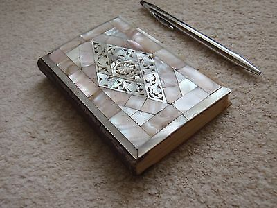 Antique mother of pearl bible
