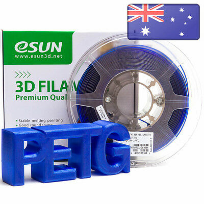 eSUN 3D Printer Filament 1.75mm PETG 1kg Spool