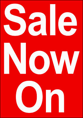 5 Sale Now On Posters A1 size (841mmx594mm) on 190gsm Photo Satin paper