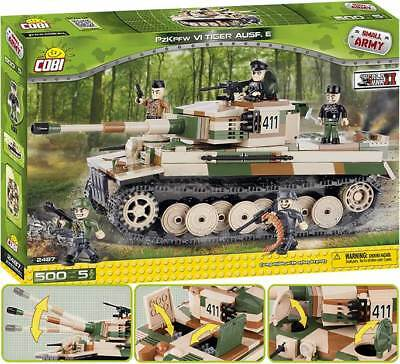 COBI 2487 - Small Army Bausteine - Tiger PzKpfw VI Ausf. E - German heavy tank