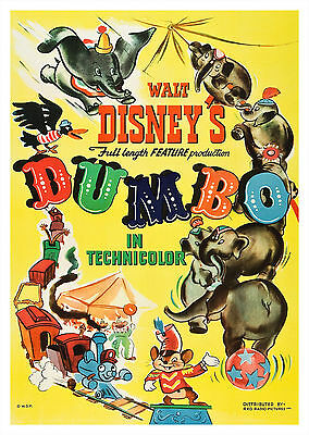 Dumbo (1941) - A1/A2 POSTER **BUY ANY 2 AND GET 1 FREE OFFER**