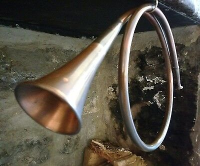 Vintage Copper and Brass Hunting Horn