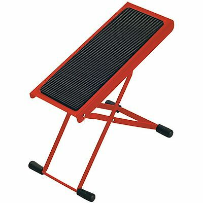 K&M 14670 Guitar Foot Stool - Red