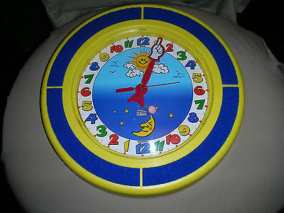 Innovative Activity Clocks Child's Clock Learning The Day at a Glance Free Ship