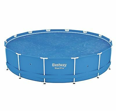 Bestway 14' Round Floating Above Ground Swimming Pool Solar Heat Cover | 58252E
