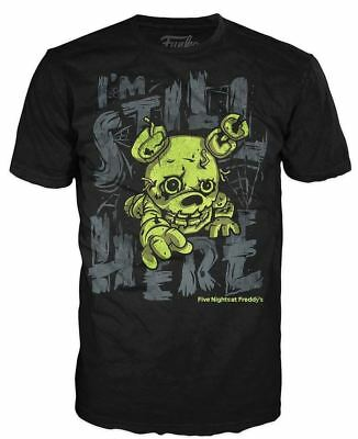 Funko POP! Tees: Spring Trap I'm Still Here – Kid's Size (L) Graphic T-Shirt NEW