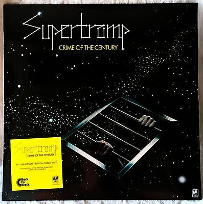 SUPERTRAMP CRIME OF THE CENTURY LP 180g SEALED