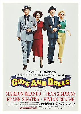 Guys and Dolls (1955) - A1/A2 POSTER **BUY ANY 2 AND GET 1 FREE OFFER**
