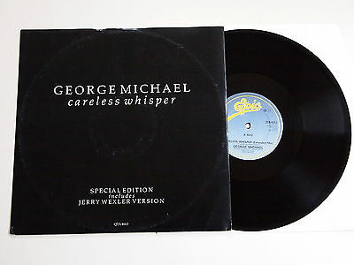 "GEORGE MICHAEL - CARELESS WHISPER 12"" EX VINYL Rare Special Edition Jerry Wexler"
