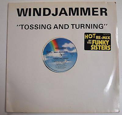 "WINDJAMMER - TOSSING AND TURNING 12"" VINYL EX UK 1984 Boogie Classic"