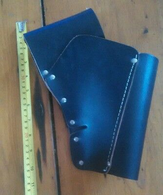 Leather Rifle Belt Holster Hunting in New Condition