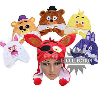 Five Nights at Freddy's cappelli cosplay costume Foxy mangle golden chica bonnie