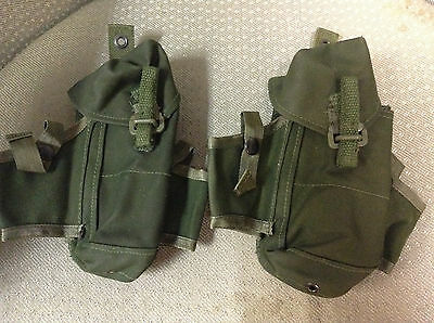 Pair If 1982 Pattern Canadian  C7 Mag Pouches Excellent Condition