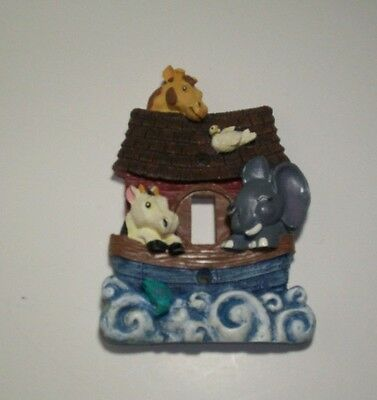Noah's Ark & Friends Single Toggle Light Switch Plate Cover