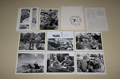 THE GLORY BRIGADE 1953 press kit 6 photos Victor Mature Lee Marvin