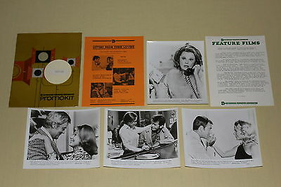 LETTERS FROM THREE LOVERS TV movie press kit photos Martin Sheen June Allyson