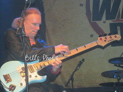 Winery Dogs 8X10 Concert Photo Of Billy Sheehan
