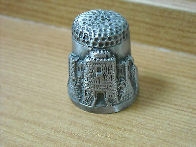 Dover Castle - Pewter Thimble By English Heritage