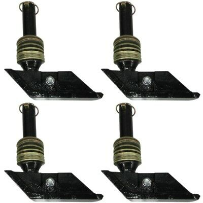 Snow Plow Square Shoe (4) for Curtis Hiniker Fisher Boss Western Snowplow 2 Pair