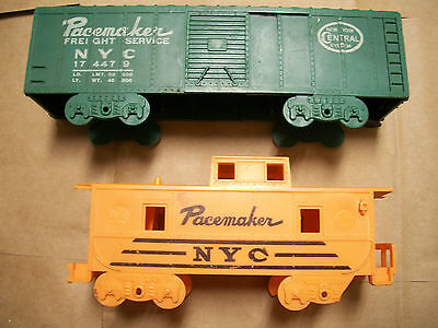 Parts Vintage Caboose & Freight Service Car Pacemaker NYC mid 20th century TRAIN