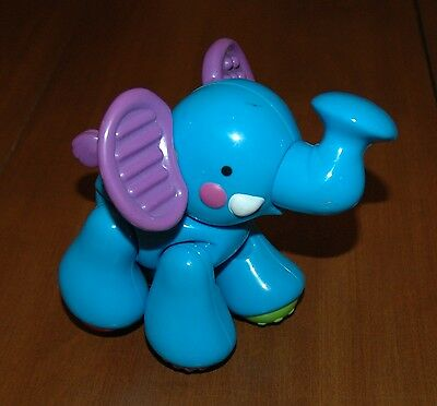 Fisher Price Amazing Animals Sing &go Train Elephant Clicking Replacement Toy #1