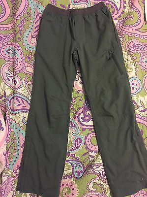 REI GIRLS SMALL 8 Camping Hiking Athletic Lined Pants EUC