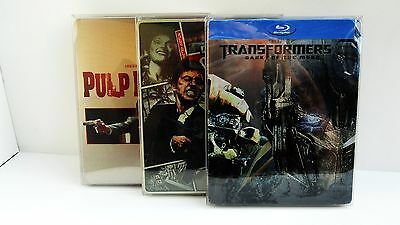 5 Custom STEELBOOK Box Protectors / Protective Sleeves Clear Cases / Covers  G2