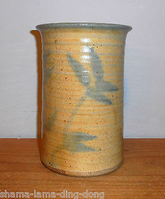 Saltspring Pottery - Studio Vase by Michael Collins - Signed & Labeled