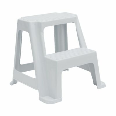2 Step Stool 150kg White