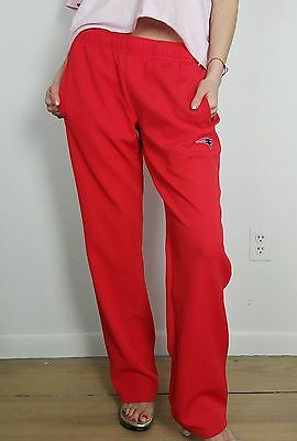 VTG 90's Track Pants/Sweats/Pro Line/Adidas/NFL/Patriots/Red/Retro/Hip Hop/M