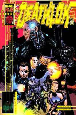 Deathlok (1999 series) #11 in Near Mint condition. FREE bag/board