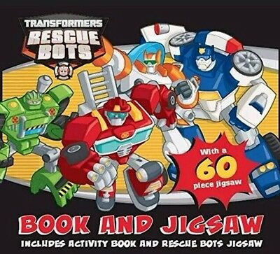 Brand New! Transformers Rescue Bots Jigsaw and Book Box Set By Autumn Publishing